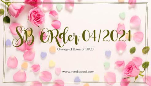 post office sb order 04/2021
