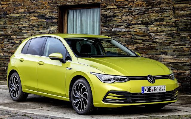 VW Golf 8 chega à Inglaterra; preço parte de R$ 132,5 mil