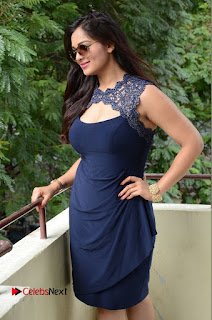 Ashwini in really cool plunging neckline Dress at Vinodam 100 Percent Press Meet 100  Pics