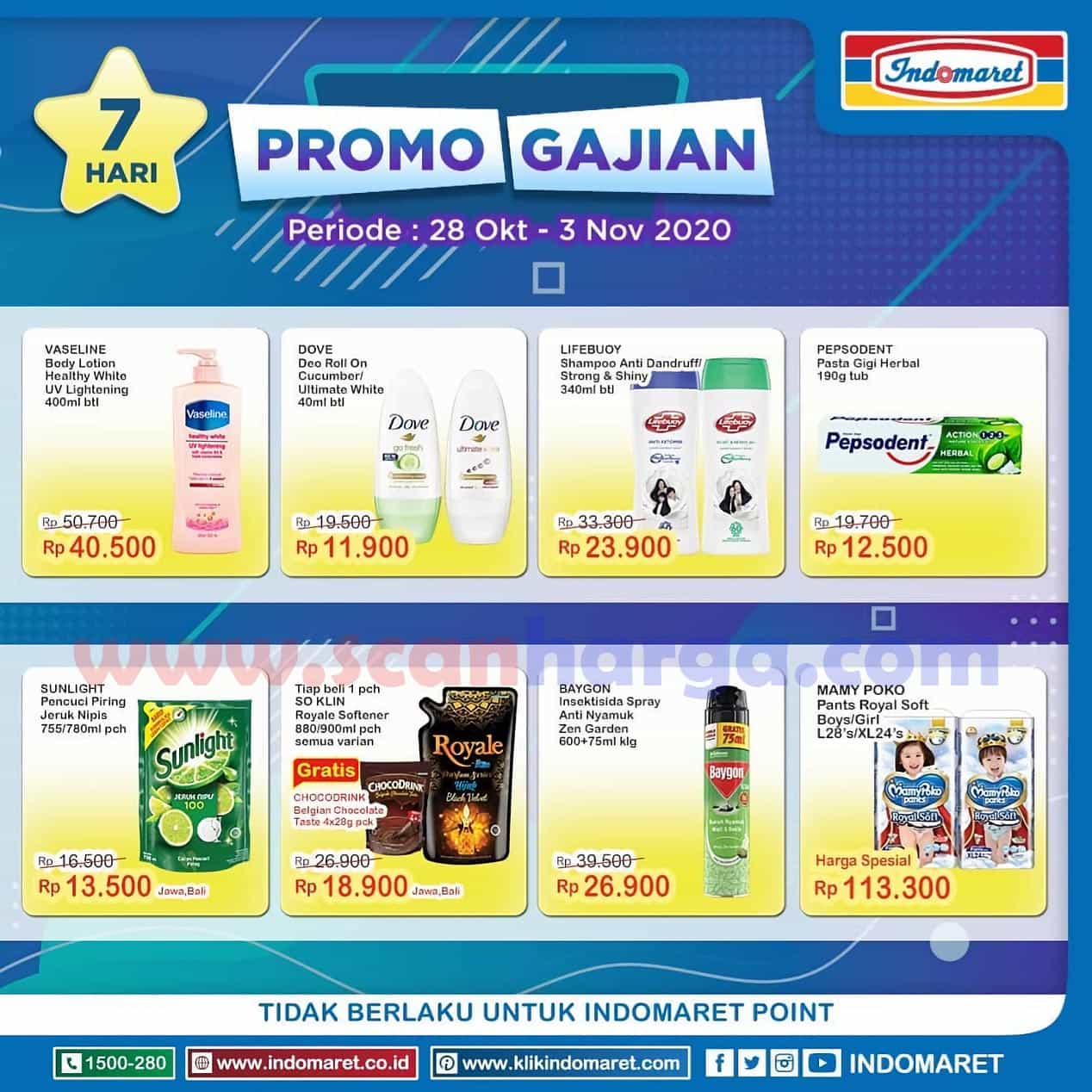 JSM INDOMARET GAJIAN Promo Tebus Murah Periode 28 Oktober - 1 November 2020 3