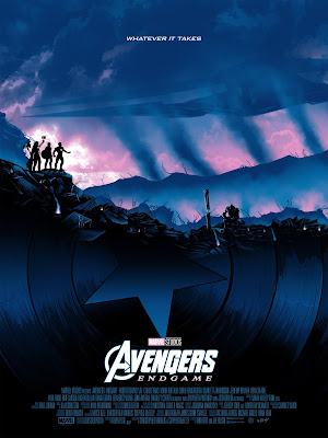 New York Comic Con 2019 Exclusive Avengers: Endgame Movie Poster Screen Print by Doaly x Grey Matter Art x Marvel