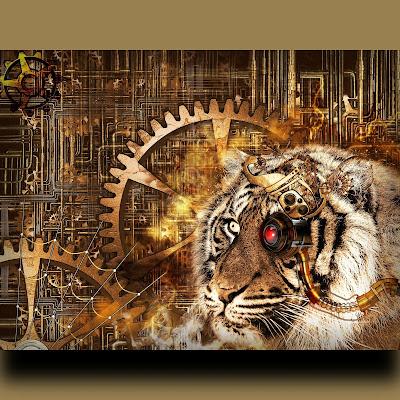 steampunk-tiger