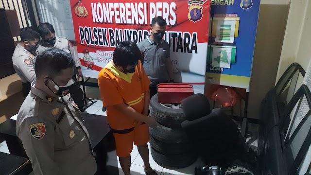 Selain Curi Motor, DS Juga Akui Curi Spare Part Milik Anggota Polisi