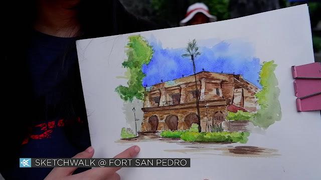 Sketchwalk at Fort San Pedro