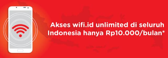 Cara Daftar Wifi.id Seamless Harga 10 Ribu Perbulan