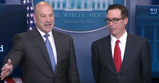 Mnuchin-Cohn Press Briefing, 26 April 2017 - Source: White House - https://youtu.be/TTlkX41zuhQ