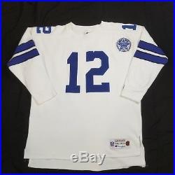 Dallas Cowboys Roger Staubach Champion Throwbacks jersey
