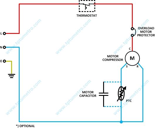 Pengatur Suhu  Thermostat  Sistem Kulkas  Refrigerator