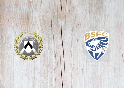 Udinese vs Brescia -Highlights 21 September 2019