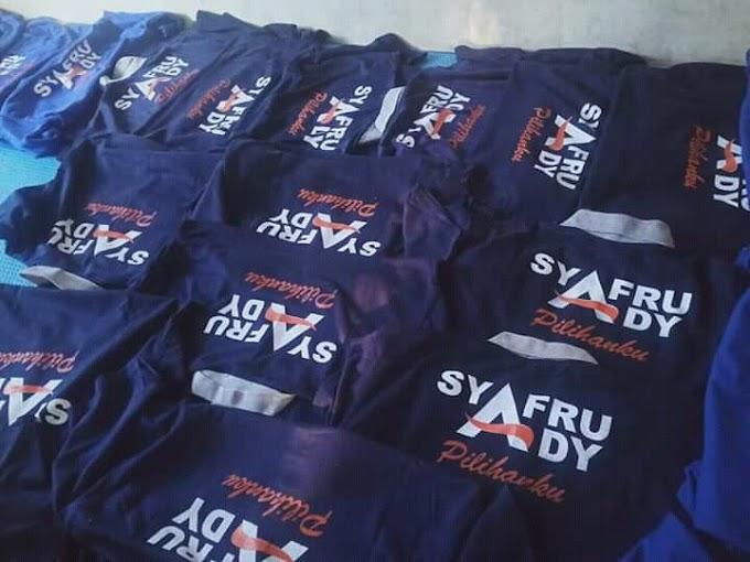 Laris Manis..! Kampaye SYAFAAD Di Bolo Ribuan Baju Diborong Penjual Untung