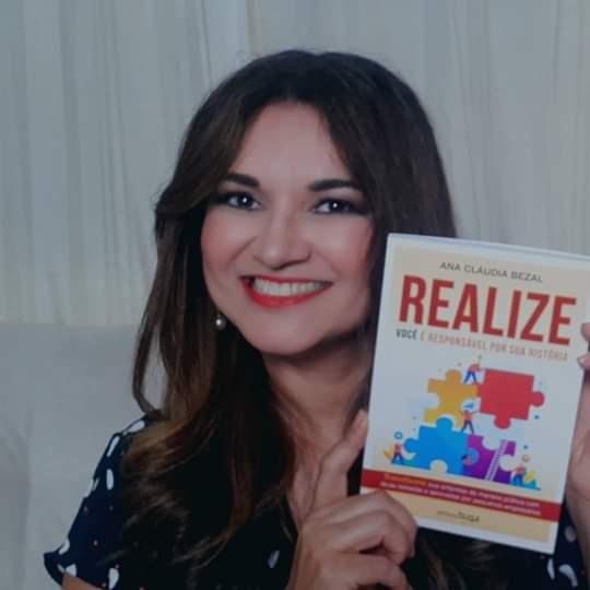 """Ana Cláudia Bezal fala sobre o lançamento do seu livro Realize, você é responsável por sua história, no bate-papo """"A Verdade dos Fatos """"."""