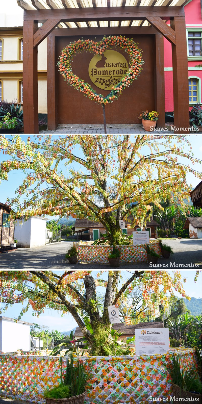 Pomerode árvore da páscoa