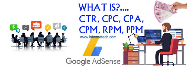 What is CTR, CPC, CPM, CPA, RPM And PPC?