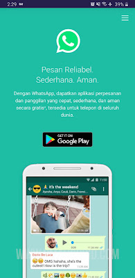 Download WhatsApp Terbaru Official