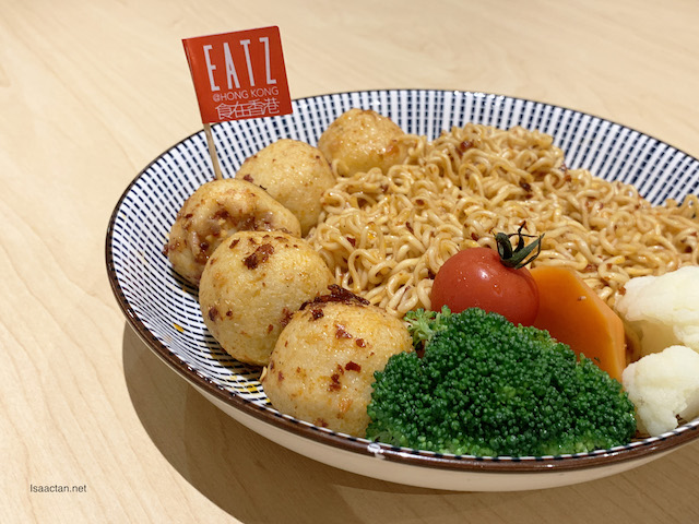 Spicy Fishballs Noodles - RM15.80