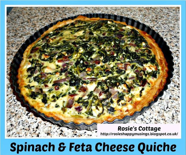 Easiest Ever Recipe For Spinach And Feta Cheese Quiche