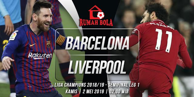 Prediksi Barcelona vs Liverpool Liga Champions