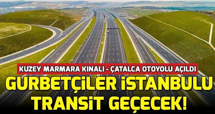 Gurbetçiler Artık İstanbul Trafiğine Girmeden Memleketlerine Ulaşacak
