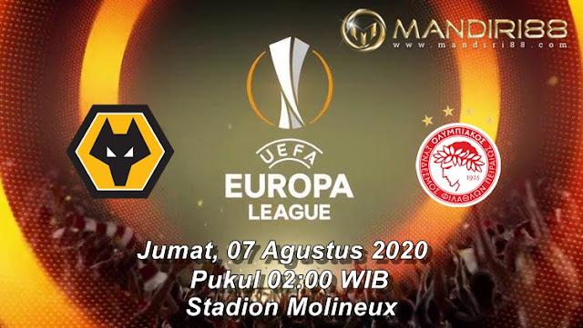 Prediksi Wolverhampton Wanderers Vs Olympiacos Piraeus, Jumat 07 Agustus 2020 Pukul 02.00 WIB