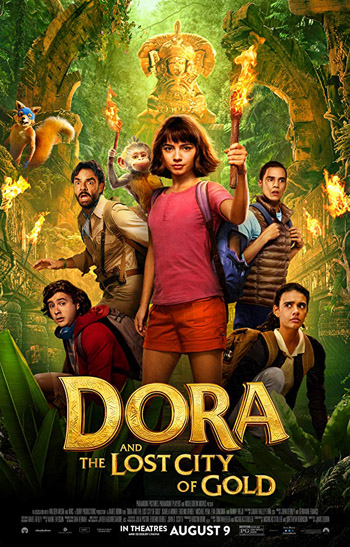 Dora and the Lost City of Gold 2019 Hindi Dubbed HDCam 720p 900MB