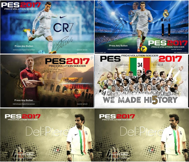 PES 2017 Star Screen Pack v2 By Ez