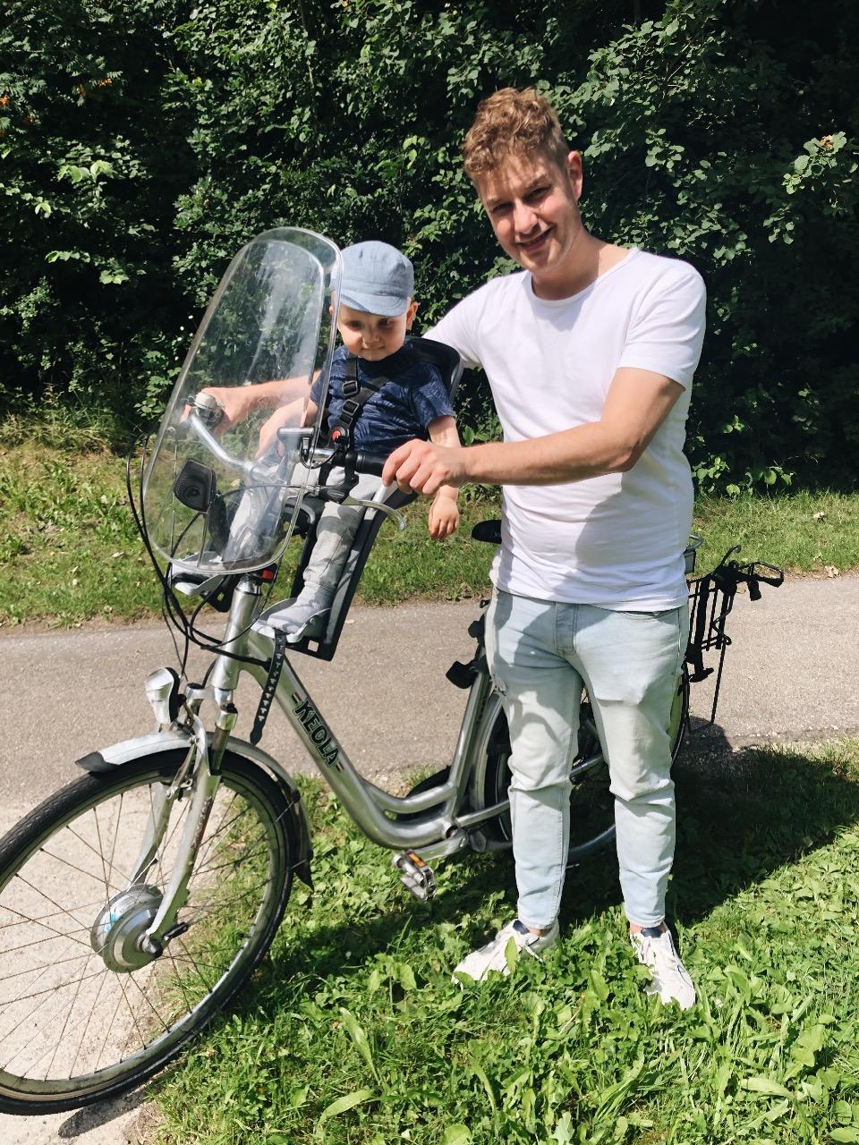 week foto's fietsen