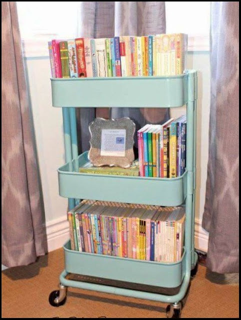 diy bookshelf kids