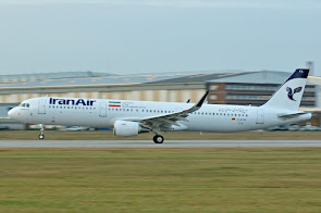 1st A321 for Iran Air