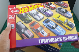 Hot Wheels Unboxing Throwback Series 50th Anniversary 10 Pack