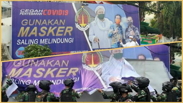 Nah Lho, Haji Lulung Tersinggung Baliho Bergambar Dirinya Ikut Disikat Anggota TNI