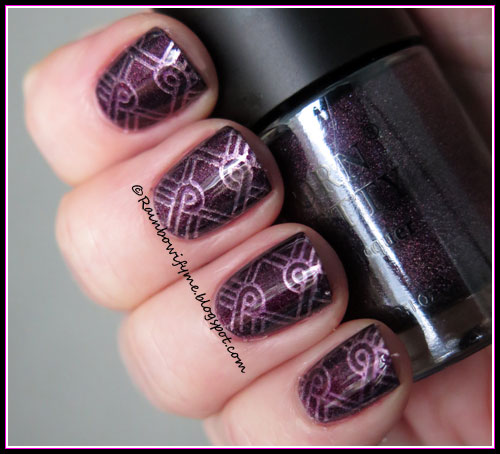 Born Pretty Store Holo ~ Violet Light