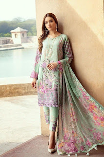 Digital Lawn Printed Pakistani Suits Collection In Wholesale Rate