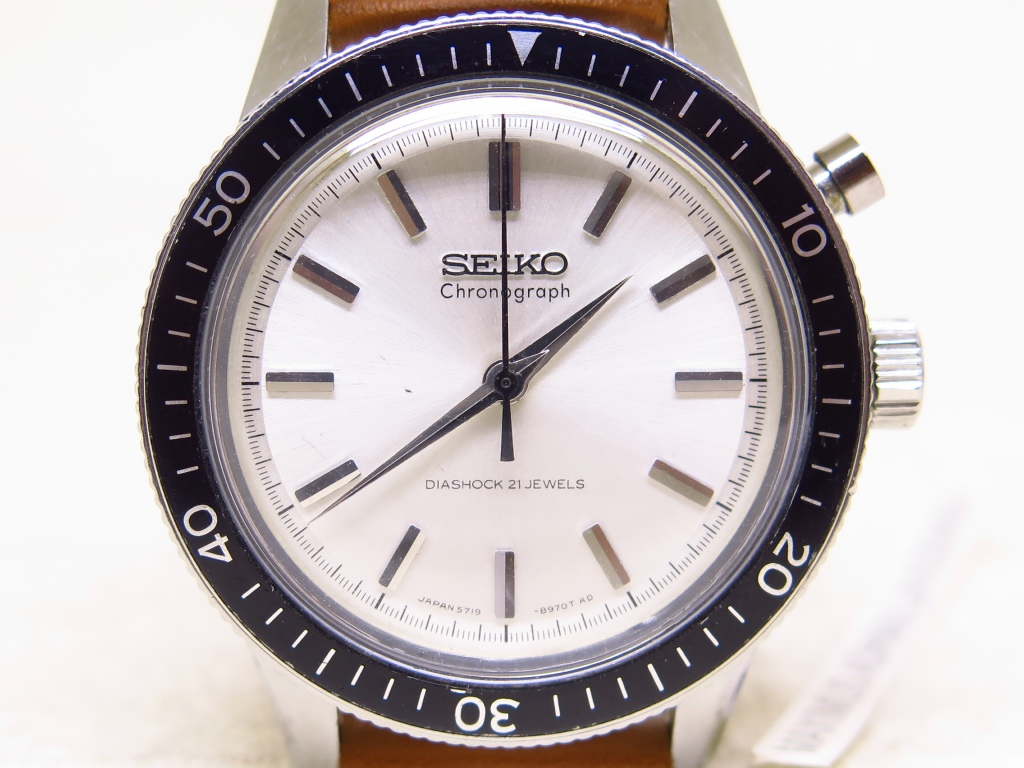 SEIKO CHRONOGRAPH 5719 8980 - SEIKO THE FIRST CHRONOGRAPH - MECHANICAL MANUAL WINDING 5719