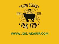 Lowongan Kerja Creative Content Creator dan Copywriter di Susu Segar Pak Tom Jogja