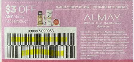 Almay coupon smartsource insert 8-16