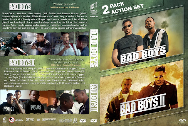 Bad Boys Collection DVD Cover