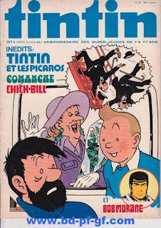 Tintin numéro 38, 1975, Tintin chez les Picaros