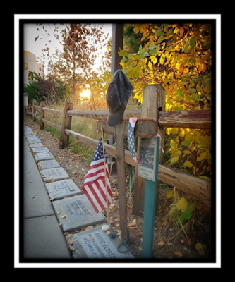 Wildland Firefighter Monument @ NIFC at sunrise
