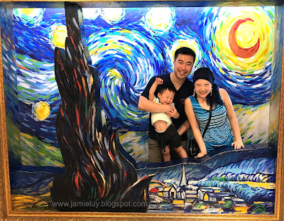 Starry Starry Night Trick Eye Museum Singapore