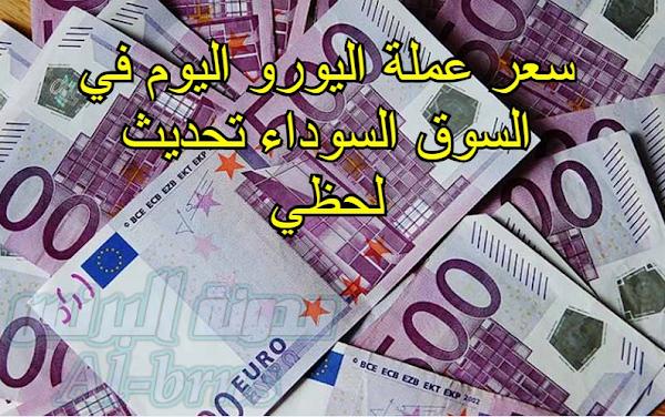 سعر اليورو اليوم في السوق السوداء في مصر تحديث لحظي