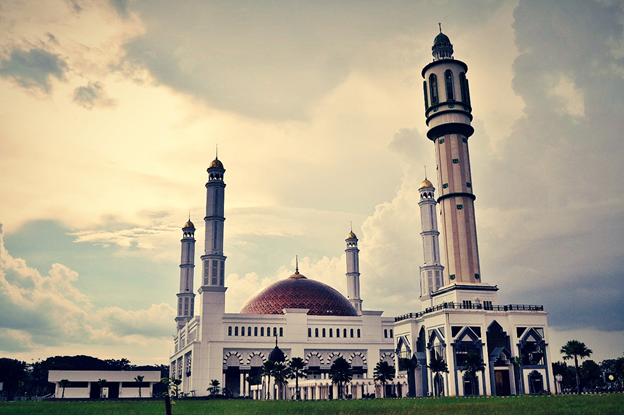 Tentang Masjid Mujahidin Pontianak - Borneolive