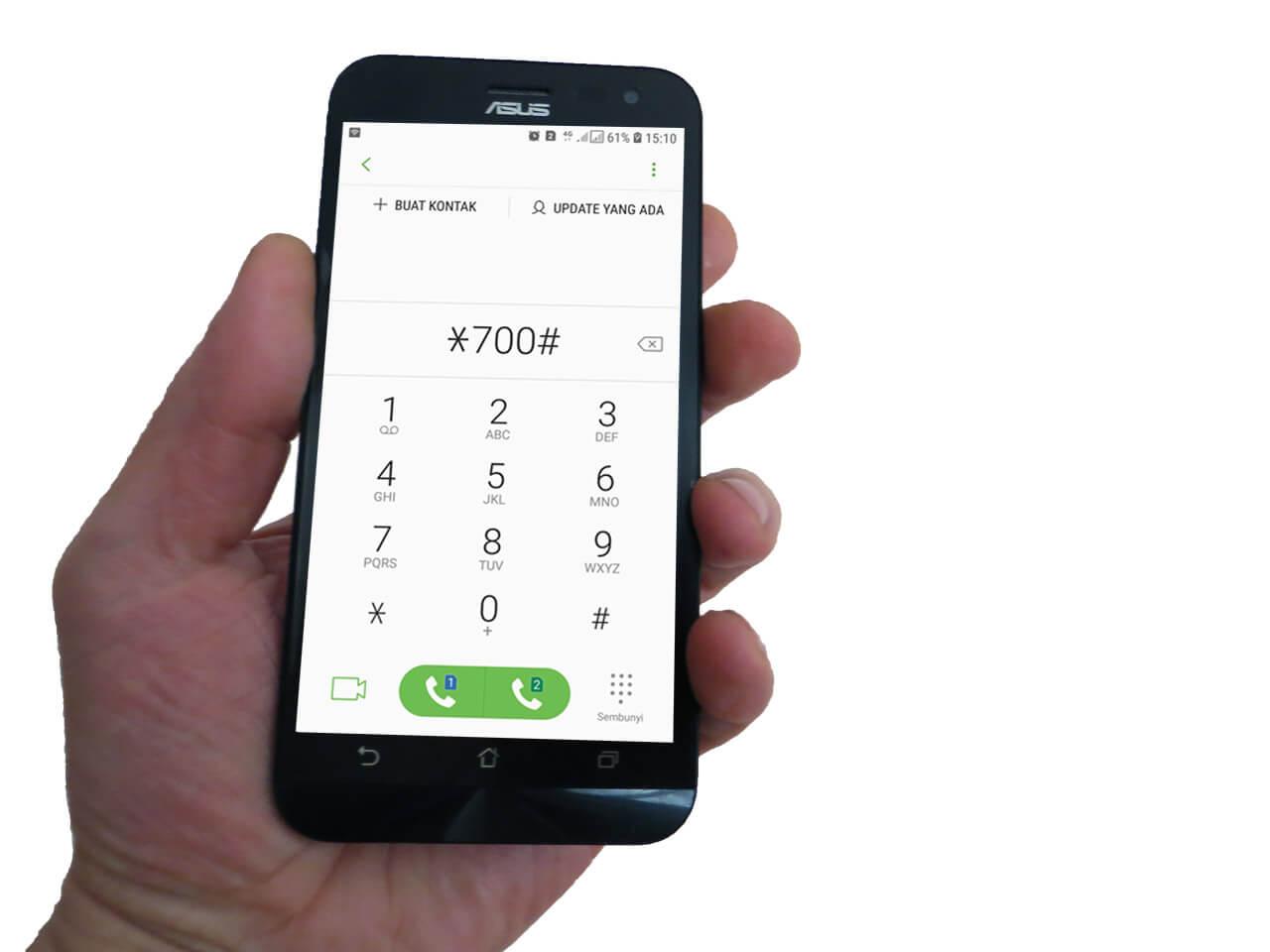 cek poin telkomsel via dial