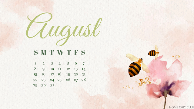Free Desktop & Printable Calendars /August 2021