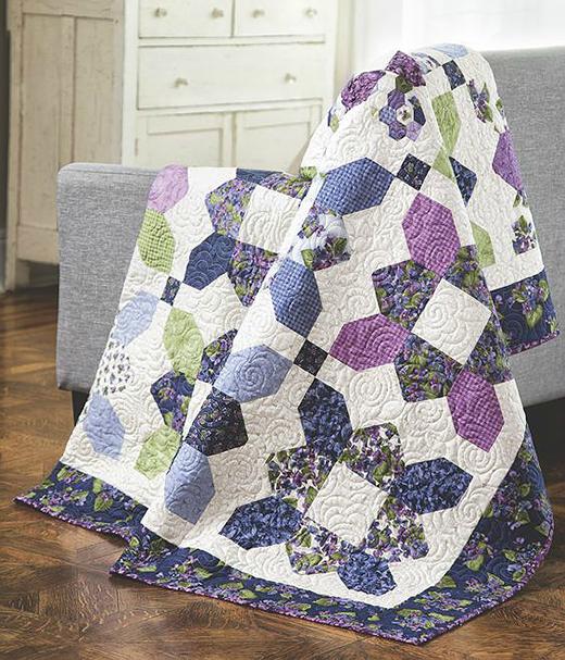 Prairie Flower Quilt Free Tutorial