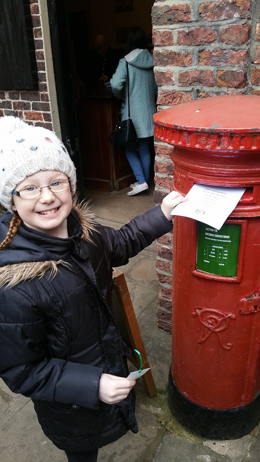 Preston Park Museum & Grounds | Christmas Bazaar and visiting Santa 2016 - Posting letters to Santa