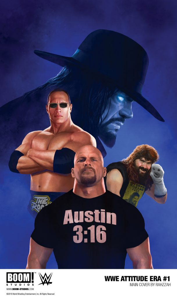 WWE: ATTITUDE ERA #1 FIRST LOOK