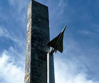 Жовква. Пам'ятник Петру Нестерову