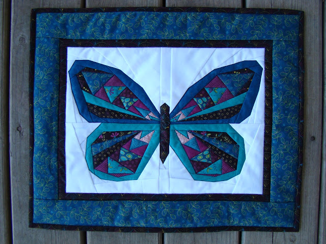 butterfly mini quilt