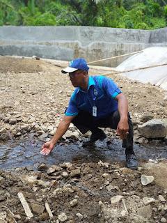 Air Baku PDAM Kotabaru Mulai Berkurang