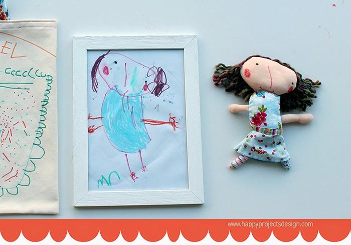 DIY: de garabato a muñeco de trapo